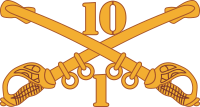 1-10 Cavalry Decal