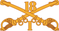 1-18 Cavalry Decal