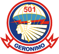1-501 Parachute Infantry Regiment (v1) Decal