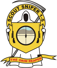 1-5-1 Scout Sniper Decal