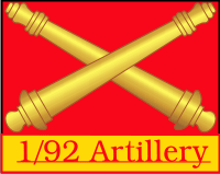1-92nd Field Artillery Decal