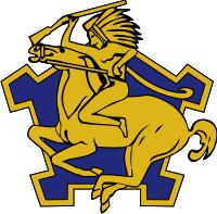 1-9th Cavalry Headhunters DUI Decal
