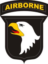101st Airborne Division Decal
