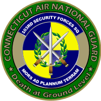103rd Security Forces Squadron – Connecticut Air National Guard Decal