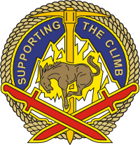 10th Sustainment Brigade DUI Decal
