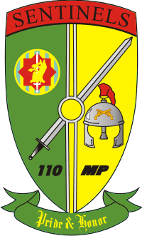 110th Military Police Company Decal