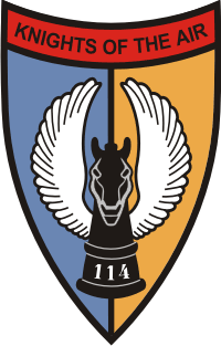 114th AHC Assault Helicopter Company Decal