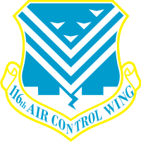 116th Air Control Wing Decal