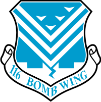 116th Bomb Wing Decal