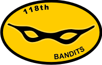 118th AHC Assault Helicopter Company 3rd Platoon – Bandits Decal