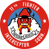 11th Fighter Interceptor Squadron Decal
