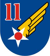 11th Air Force Decal