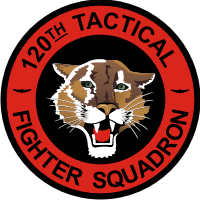 120th Fighter Squadron Decal
