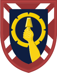 121st Army Reserve Command Decal