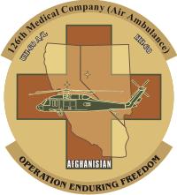 126th Medical Company Air Ambulance Decal
