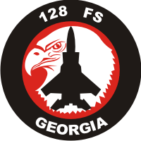 128th Fighter Squadron Decal
