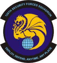 129th Security Forces Squadron Decal