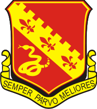 130th Field Artillery DUI Decal