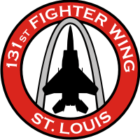 131st Fighter Wing - Missouri Air National Guard Decal