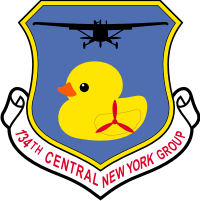 CAP NY 134 Central New York Group (v2) Decal