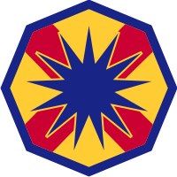 13th Sustainment Command (Expeditionary) Decal