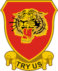 141st Field Artillery Regiment Decal