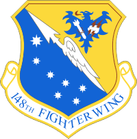 148th Fighter Wing - Minnesota Air National Guard Decal