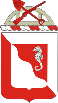14th Engineer Battalion COA Decal