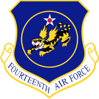 14th Air Force (v2) Decal