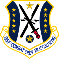 1550th Combat Crew Training Wing Decal