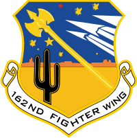 162nd Fighter Wing - 2 Decal