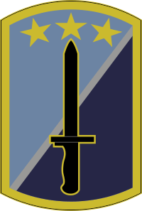 170th Infantry Brigade Decal