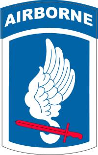 173rd Airborne Brigade Decal
