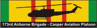 173rd Airborne Brigade Casper Aviation Platoon Decal