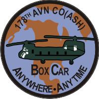 178th Aviation Company (ASH) Decal