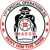 17th Special Operations Squadron Decal