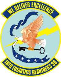 18th Logistics Readiness Squadron Decal