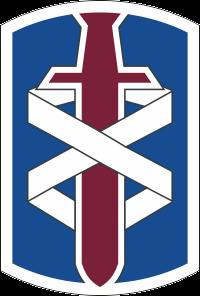 18th Medical Brigade Decal