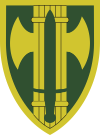 18th Military Police Brigade Decal