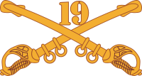 19th Cavalry Decal
