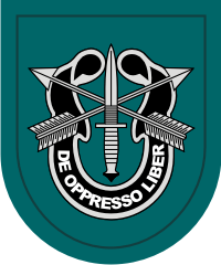 19th Sprecial Forces Group Airborne 1982 – Current Decal