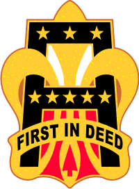 1st Army DUI Decal