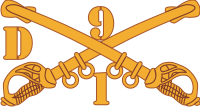 1D-9 Cavalry Decal