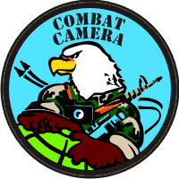 1st Combat Camera Squadron - 1 Decal