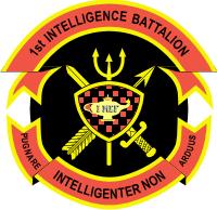 1st Intelligence Battalion Decal