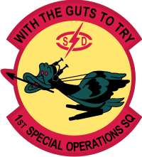 1st Special Operations Squadron (1) Decal