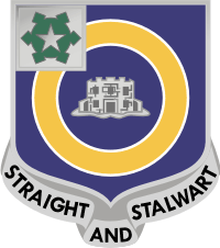 1st Battalion 41st Infantry Decal
