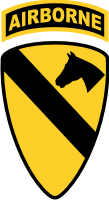 1st Cavalry Airborne Decal