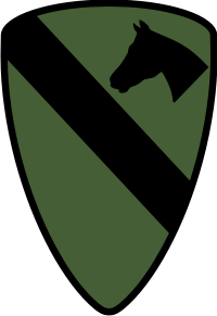 1st Cavalry Division (Subdued) Decal