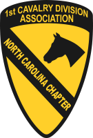 1st Cavalry Division Association North Carolina Chapter - 2 Decal
